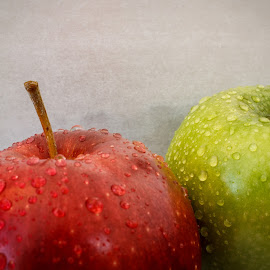 Apple Twins by Vanko Dimitrov - Food & Drink Fruits & Vegetables ( red, green, apples, twins,  )