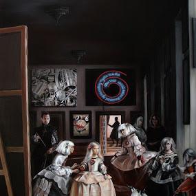 Las Meninas Interpretation  by Alexandru Racu - Painting All Painting