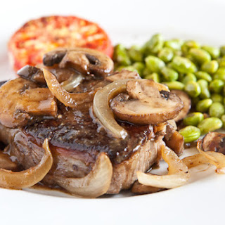 Porterhouse Steak Recipe with Whiskey Mushroom Sauce