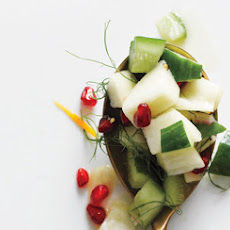 Chopped Cucumber, Pear, and Fennel Salad