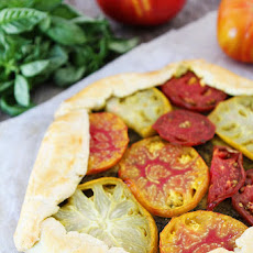 Heirloom Tomato Pesto Galette