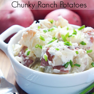 Slow Cooker Chunky Ranch Potatoes
