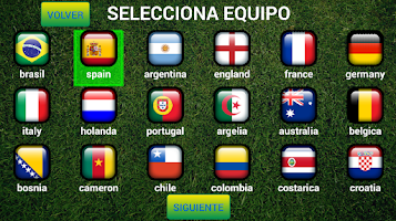 Screenshot of Brazil  World Cup 2014 Mobile