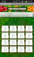 Screenshot of Fun With Fruits Matching Game