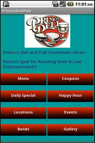 Primo's Deli Pub
