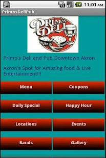 Primo's Deli & Pub - screenshot