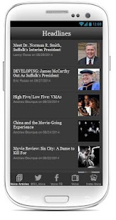 The Suffolk Voice Mobile - screenshot
