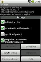 Screenshot of Webkey (ROOT REQUIRED)