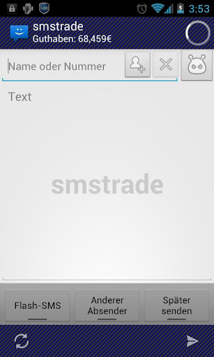 WebSMS Connector: smstrade
