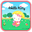 Hello Kitty Rain Theme