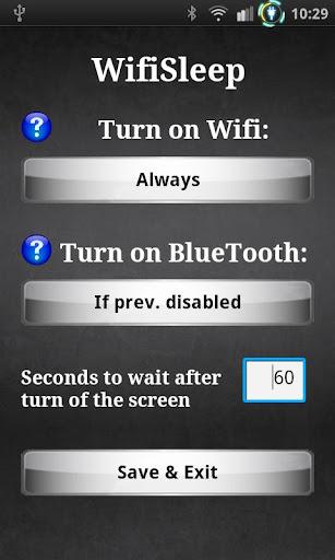 Wifi Sleep Free