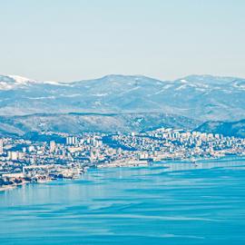 Rijeka viewpoint by Luana Racan - City,  Street & Park  Vistas