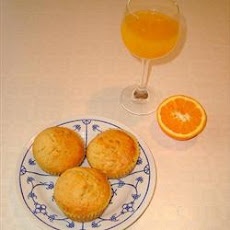 Orange Muffins with Dates
