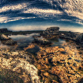 ON THE ROCKS by Chase Alog - Landscapes Waterscapes ( #ilocosnorte, #hdraddicts, #rock, #rockformation, #hdr,  )