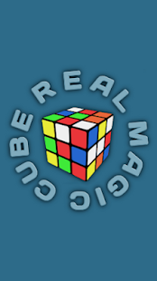 Real magic cube demo - screenshot