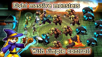Screenshot of RPG REON-Strategy Defense Camp