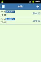 Screenshot of Monthly Budget
