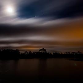 Midnight Special by Henrik Hansen - Landscapes Weather