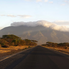 by Vail Ria - Landscapes Travel ( road, travel, tanzania, Earth, Light, Landscapes, Views )