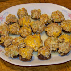 Red Lobster Crab Stuffed Mushrooms