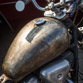 Rusty by Arti Fakts - Transportation Motorcycles ( harley, bike, motorbike, moto, chrome, davidson, rusty, artifakts, rust )