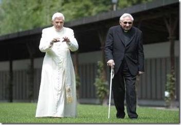 El Papa y su hermano
