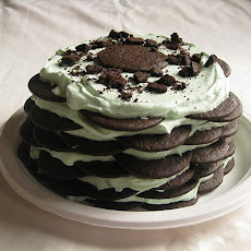 Easy Oreo Ice Cream Cake