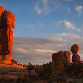 Arches National Park  in Moab Utah  by Maribeth Pisano - Landscapes Travel