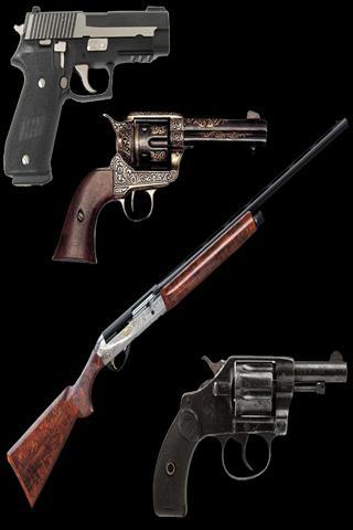 PSTC Training Firearms