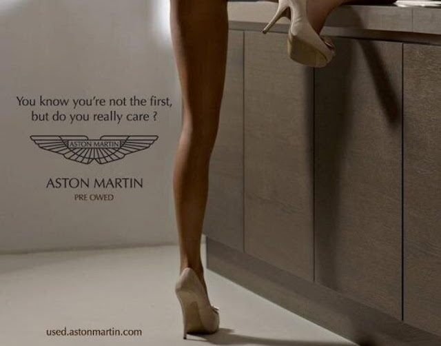 Great Aston Martin Ad Ign Boards