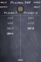 Screenshot of Dart Score