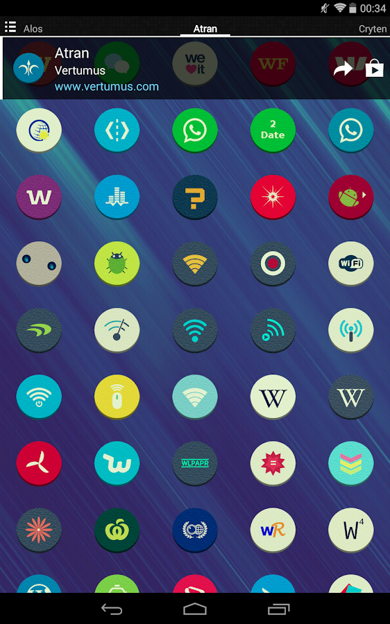 Atran - Icon Pack Screenshot 13
