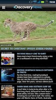 Screenshot of Discovery News
