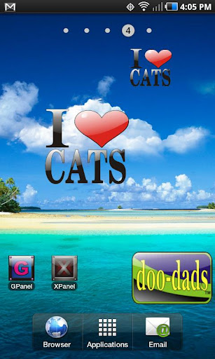 I Love Cats doo-dad