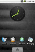 Screenshot of Nexus Clock Widget 2x2 HighRes