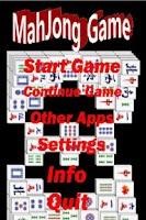 Screenshot of MahJong Game
