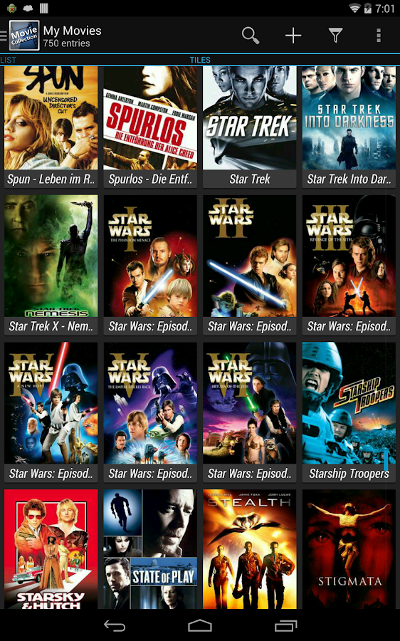 Movie Collection Screenshot 8