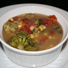 Clean-Out-The-Pantry Minestrone Soup CrockPot