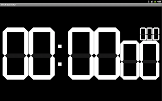Screenshot of Simple Stopwatch