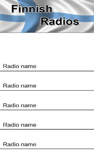 Finnish Radios