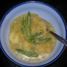 Rho's Asparagus, Leek & Potato Soup
