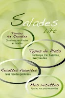 Screenshot of iCuisine Salades Lite