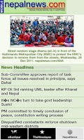 Screenshot of News Of Nepal