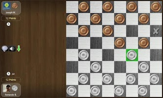 Screenshot of Checkers Online Tournament !