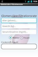 Screenshot of Renal function Free