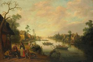 RIJKS: Joost Cornelisz. Droochsloot: painting 1650