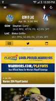 Screenshot of Golden State Warriors