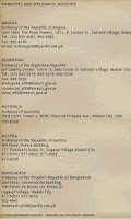 Screenshot of Philippine ZipCode & AreaCode