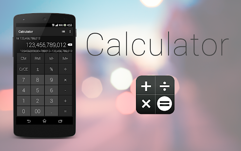 Calculator - Simple & Stylish- screenshot thumbnail