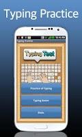 Screenshot of Typing Practice (English)